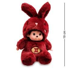 Мягкая игрушка малыш в костюме Зайчика ''Знак Зодиака - Близнецы''  PT-69 - 19 см