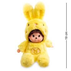 Мягкая игрушка малыш в костюме Зайчика ''Знак Зодиака - Телец''  PT-70 - 19 см
