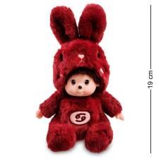 Мягкая игрушка малыш в костюме Зайчика ''Знак Зодиака - Рак''  PT-71 - 19 см