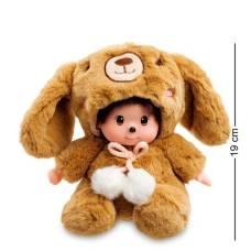 Мягкая игрушка малыш в костюме Кролика  PT-80 - 19 см