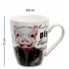 """Кружка RSLe ceramics """"Свинка Пигги"""" (108458)"""