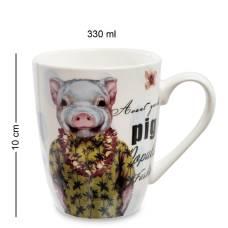 """Кружка RSLe ceramics """"Свинка Пигги""""  (108459)"""