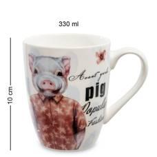 """Кружка RSLe ceramics """"Свинка Пигги""""  (108460)"""