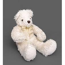 Мягкая игрушка медведь с бантиком 25128 - белый 40см