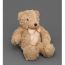 Мягкая игрушка медведь с бантиком 25130 - бежевый 46см