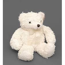 Мягкая игрушка медведь с бантиком 25131 - кремовый 46см
