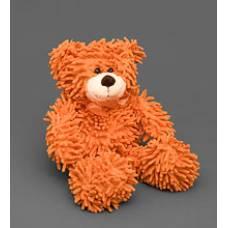 Мягкая игрушка медведь с бантиком 25136 - оранжевый 35см