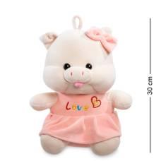 Мягкая игрушка свинка 30 см (25384)