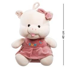 Мягкая игрушка свинка 40 см (25386)