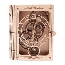 """Настінний годинник з дерева """"Пам'ятна Книга"""""""