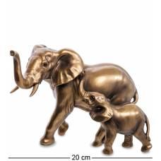 Фигура ''Слон со слоненком''  MN- 35