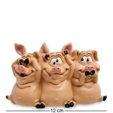 """Статуэтка """"Трио мудрых свиней"""" 905420"""