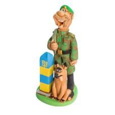 Статуэтка Пограничник с собакой