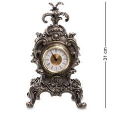 Статуетка-годинник Veronese в стилі бароко '' Королівська квітка '' WS-614