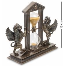 Статуэтка Veronese песочные часы ''Два крылатых льва'' WS-590