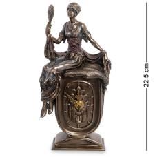 Статуетка-годинник Veronese '' Дівчина з дзеркалом '' WS-972
