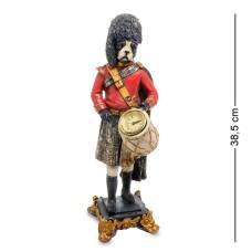 NS-179 Статуетка з годинником '' Собака Барабанщик ''