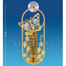 AR-3726 Термометр на  липучці ''Метелик'' (Юніон)