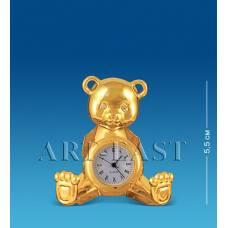 AR-3619/ 6  Фігурка з годинником ''Ведмедик'' з коль.кр. (Юніон)