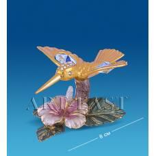 """AR-4352  Композиция """"Колибри на цветке"""" (Юнион)"""