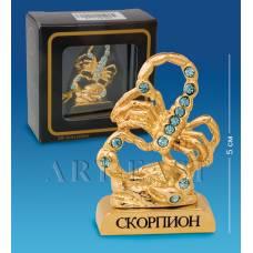 AR-  51 Знак зодиака Скорпион в подар.коробке (Юнион)