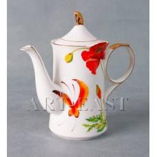 "ALF 55-031 Чайник ""Маки"" 21,5*10*19см"