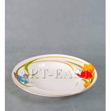 "ALF 55-047 Тарелка глубокая ""Тюльпаны"" 24,1см"