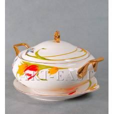 "ALF 55-060 Супница на тарелке ""Тюльпаны"""