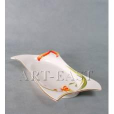 """ALF 55-077 Блюдо прям.""""Орхидеи"""" 31*15см"""