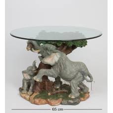 ALF 09011 Журнальный стол ''Слоны'' H-500, D-650