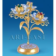 """AR-1126/ 1 Композиция """"Три цветка"""" с цв.кр. (Юнион)"""