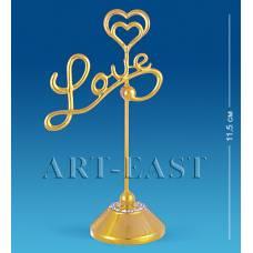 AR-1134 Тримач для візиток ''Love'' (Юніон)