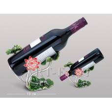 "WIN-155 Подставка для бутылки ""Лотус с лягушкой"""