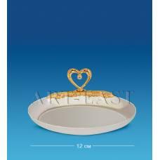 AR-1157 Блюдце-овал з серцем (Юніон)
