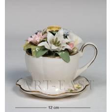 """CMS-33/11 Муз. композиція """"Чашка з квітами"""" (Pavone)"""