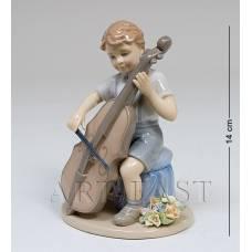 """CMS-12/ 5 Фигурка """"Мальчик с виолончелью"""" (Pavone)"""