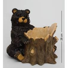 "GG-4483-LF Фигура Кашпо ""Медведь"" (Sealmark)"