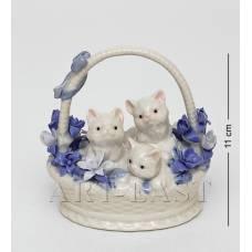 "CMS-46/8 Фігурка ""Кошенята в кошику"" (Pavone)"