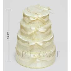 """WB-41 Коробка 4-ярусна """"Святковий торт"""""""