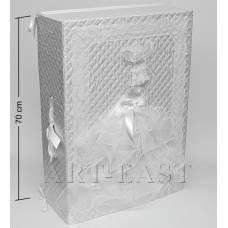 """WB-53 Коробка прямокутна """"Весільна"""""""