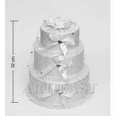 """WB-45 Коробка 3-ярусна """"Святковий торт"""""""