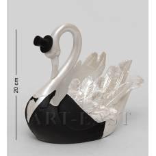 """SM-136 Подставка под бутылку """"Белый лебедь"""""""