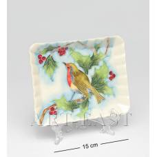 JP-97/27 Тарілка декор ''Дивний сад'' (Pavone)