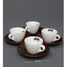 """FD-04 Чайний н-р на 4 перс. """"Для закоханих у каві"""""""