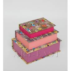 "WE-61 Н-р коробок из 3шт ""Книга"""