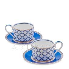 JK- 90 Чайный набор на 2 перс. ''Элегантность'' (Eleganza Pavone)