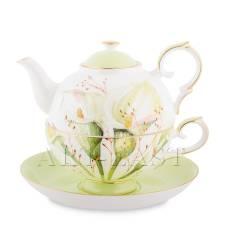 JK- 78 Чайный набор ''Калла'' (Calla Charme Pavone)