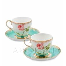 JK- 65 Чайный набор на 2 перс. ''Роза'' (Milano Rose Pavone)