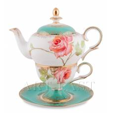 JK- 71 Чайный набор ''Роза'' (Milano Rose Pavone)