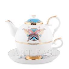 JK-101 Чайний набір ''Пісня Метелика'' (Canzone Falena Pavone)